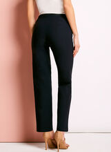 City Fit Pull On Straight Leg Pants, Blue, hi-res