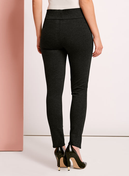 Ponte Leggings, Grey, hi-res