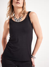 Basic Scoop Neck Tank Top, , hi-res