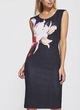 Frank Lyman - Floral Print Scuba Dress, Multi, hi-res