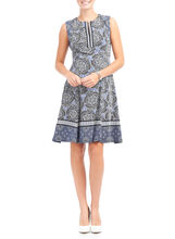 Maggy London A-Line Floral Print Dress, Multi, hi-res