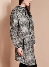 Etage Hooded Anorak Coat, Black, hi-res
