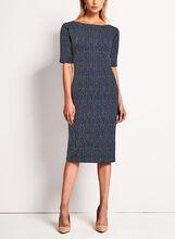 Maggy London - Birdseye Knit Sheath Dress, Multi, hi-res