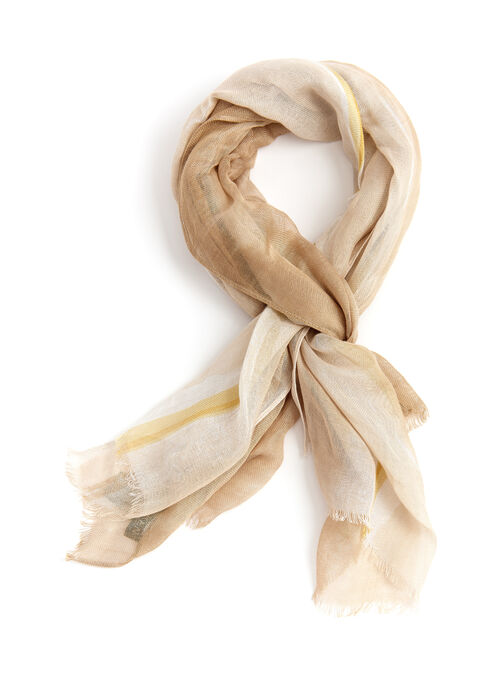 Lauren by Ralph Lauren Ombré Scarf, Brown, hi-res