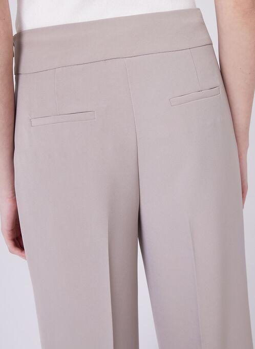 Soho Slimming Fit Wide Leg Pants, Off White, hi-res