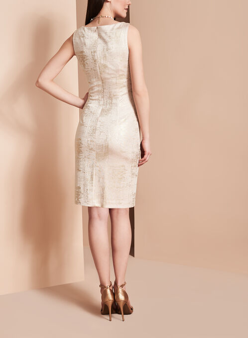 Lyman by Frank Lyman Sparkle Sheath Dress, Pink, hi-res