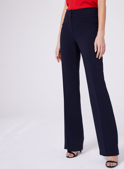 Louben Straight Leg Pants, Blue, hi-res
