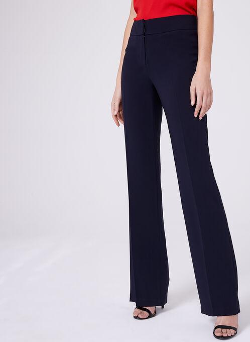 Pantalon Louben à jambe droite , Bleu, hi-res