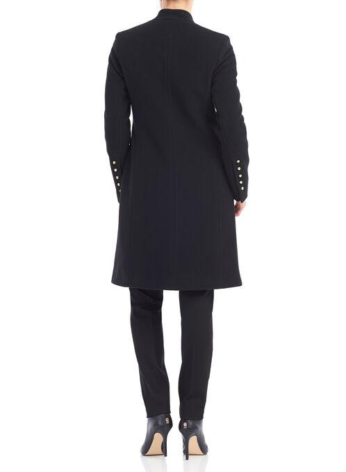 Mallia Wool & Cashmere Coat , Black, hi-res