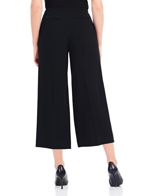 Louben Wide Leg Culottes, Black, hi-res