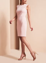 Ivanka Trump Studded Ponte Dress, , hi-res