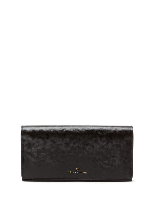 CÉLINE DION -  Cavatina Long Wallet, Black, hi-res