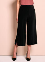 Slit Detail Culotte Pants, , hi-res