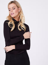 Vex -  Cotton Blend Funnel Neck Top, , hi-res