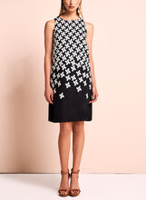 Tahari - Sleeveless Geometric Print Dress, , hi-res