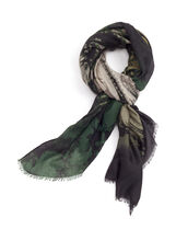 Abstract Print Scarf, , hi-res