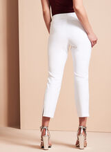 Pull-On Capri Pants, White, hi-res