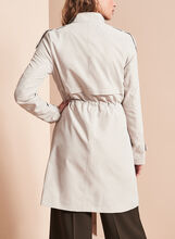 French Connection Trench Coat, Grey, hi-res