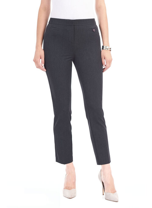 Reese Pocket Slim Leg Pants, Grey, hi-res