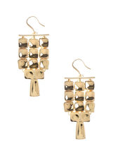 Square Chandelier Earrings, , hi-res