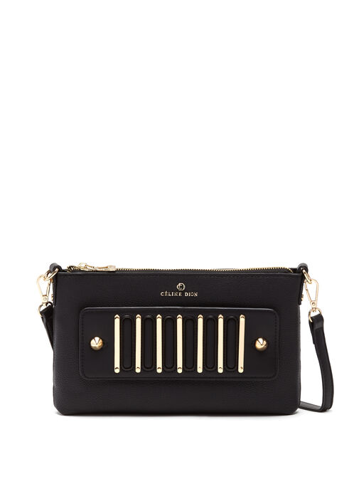 CÉLINE DION - Interval Clutch Bag, Black, hi-res