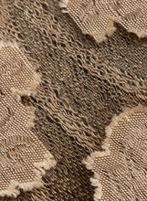 Sheer Damask Print Wrap, Gold, hi-res