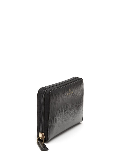 CÉLINE DION - Cavatina Long Zipped Wallet, Black, hi-res