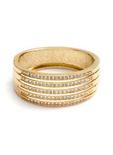 Multi-Row Crystal Bangle, , hi-res