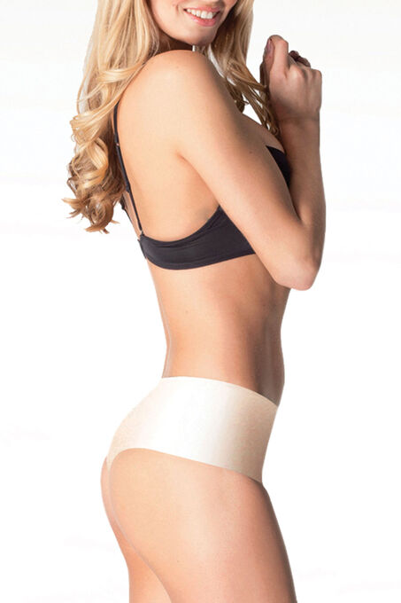Body Hush Slimming Thong , Off White, hi-res