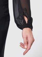 Frank Lyman Balloon Sleeve Chiffon Bolero , Black, hi-res