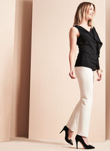 Slim Leg Techno Twill Pants, Grey, hi-res