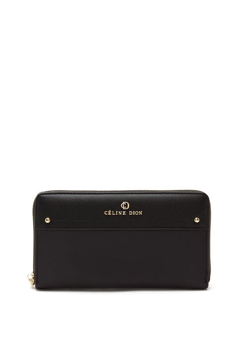 CÉLINE DION -  Presto Long Wallet, Black, hi-res