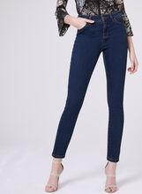PETITES - Sculpting Slim Leg Jeans, Blue, hi-res