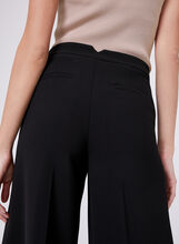 Wide Leg Culotte Pants , Black, hi-res