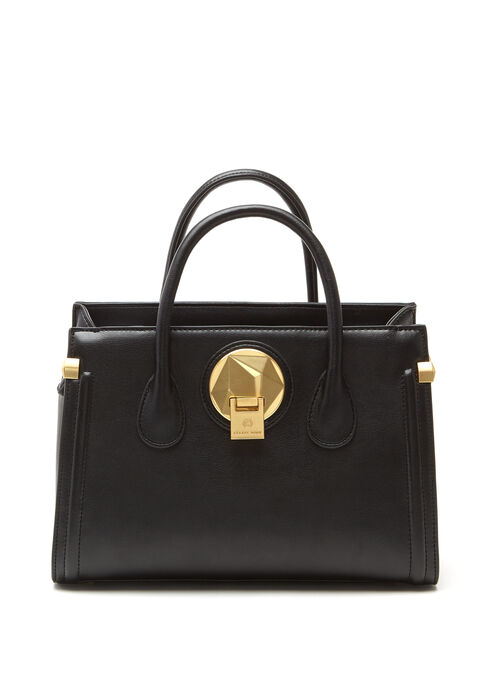 CÉLINE DION - Octave Satchel Bag, Black, hi-res