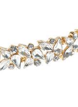 Ribbon Tie Choker Necklace, Gold, hi-res