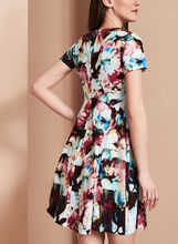 Maggy London Fit & Flare Dress, Multi, hi-res