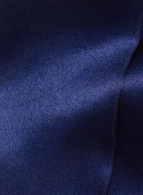 Solid Skinny Tie Scarf, Blue, hi-res