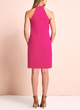 Maggy London - Halter Neck Bow Dress, Pink, hi-res