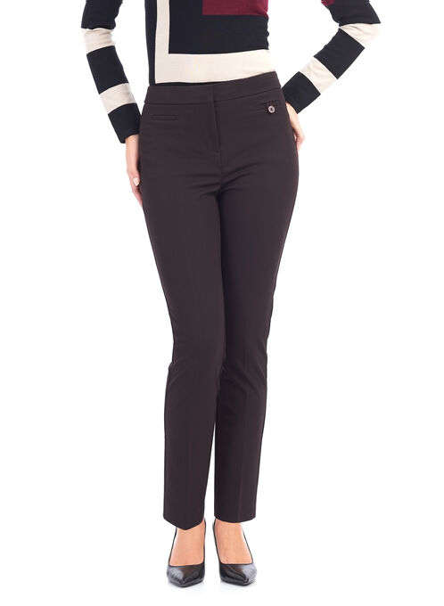 Slim Leg Reese Pocket Pants , Red, hi-res