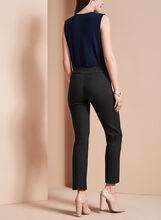 Diamond Jacquard 7/8 Pants, Black, hi-res