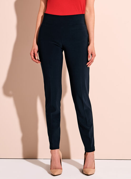 Frank Lyman Slim Leg Knit Pants, Blue, hi-res
