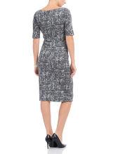 Maggy London Textured Knit Dress, Grey, hi-res