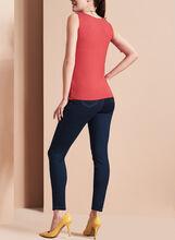 Slim Leg Ankle Jeans , Blue, hi-res
