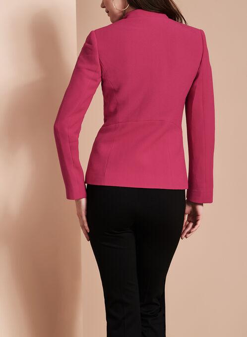 Tahari - Crepe Blazer, Pink, hi-res