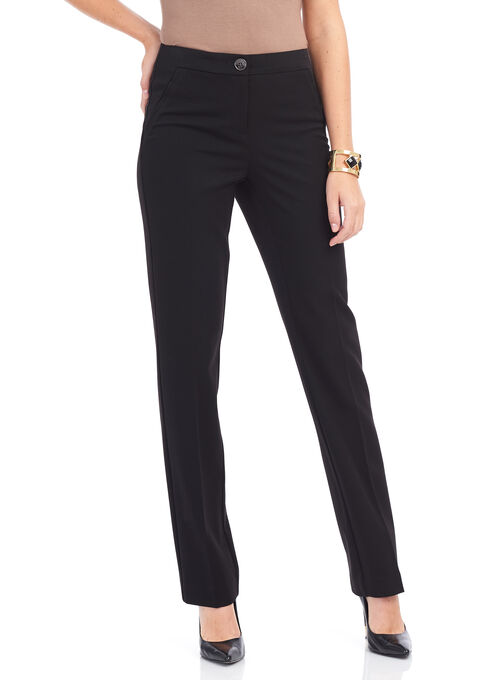 Reece Pocket Straight Leg Pants, Black, hi-res