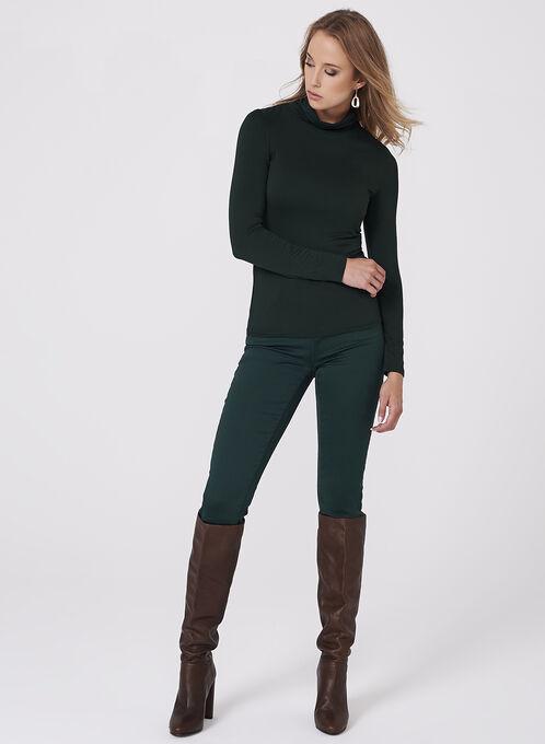Super Soft Slim Leg Jeans, Green, hi-res
