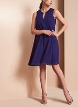 Vince Camuto Keyhole Detail Dress, Blue, hi-res