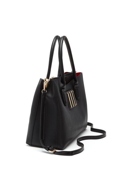 CÉLINE DION - Interval Satchel Bag, Black, hi-res