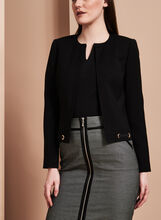 Tahari - Eyelet Trim Jacket, , hi-res